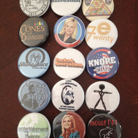 Parks and Rec buttons