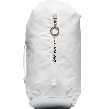 Long White Crossbody Bag by OFF-WHITE