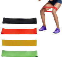 Elastic Band Tension Resistance Band Exercise Workout Rubber Loop Crossfit Strength Training Expander Fitness Yoga Equipment