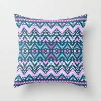 Mix #483 Throw Pillow by Ornaart