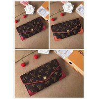 LV Louis Vuitton MONOGRAM CANVAS WALLET