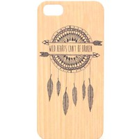 With Love From CA Wild Hearts iPhone 5G/5S Case - Womens Scarves - Brown - NOSZ