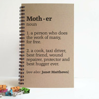 Mother definition, personalized gift