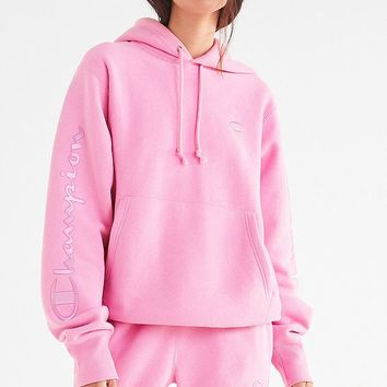 Champion & UO Novelty Graphic Hoodie Sweatshirt   Urban Outfitters