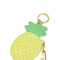 Lemonade Palm Oasis Pineapple Coin Purse by Juicy Couture, O/S