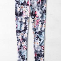 AEO Women's Hi-rise Printed Legging (Navy)