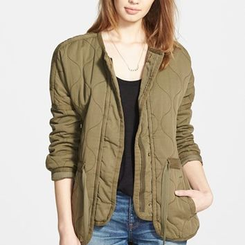 Women's Madewell Quilted Drawstring Jacket