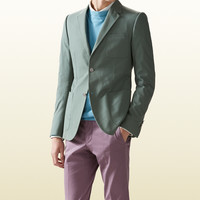 firenze light cotton jacket with printed lining 368671Z32723479