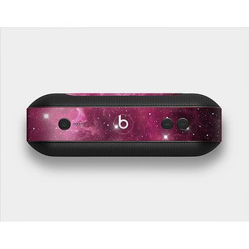 The Glowing Pink Nebula Skin Set for the Beats Pill Plus