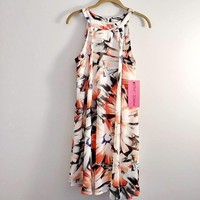 Women's Betsey Johnson Abstract Floral Print Dress
