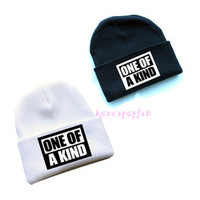 Bigbang G-DRAGON GDRAGON GD ONE OF A KIND HAT KNIT CAP KPOP NEW