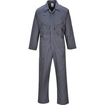 Portwest Liverpool Zip Coverall Overall Boilersuit Phone Pocket Workwear C813