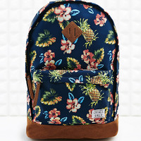 Locals Only Hawaiian Print Backpack in Navy - Urban Outfitters
