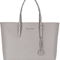 MICHAEL Michael Kors - Jet Set textured-leather tote