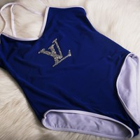 LV LOUIS VUITTON Swimsuits Bathing Suits Swimwear One Piece