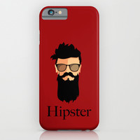 Hipster iPhone & iPod Case by Tony Vazquez