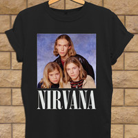 Nirvana hanson shirt, Nirvana T shirt, Unisex adult for mens and woman