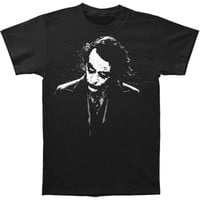 Batman Men's  Dark Joker T-shirt Black Rockabilia