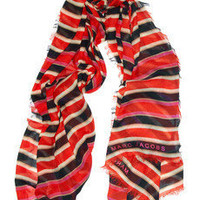 Marc by Marc Jacobs Jacobson striped modal scarf NET-A-PORTER.COM