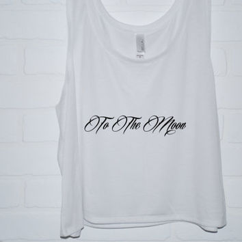 Too The Moon Michael Tattoo Sublimation Tank Top