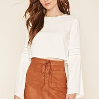 Contemporary Faux Suede Skirt