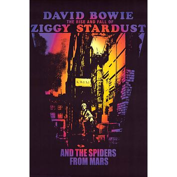 """Poster: David Bowie Spider from Mars (24""""x36"""")"""