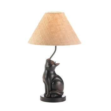 Curious Cat Table Lamp