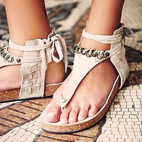 FP Collection Womens Collins Footbed