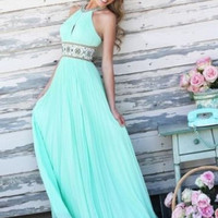 Women Sexy Party Ball Sleeveless Dress Prom Gown Formal Bridesmaid Long Dress