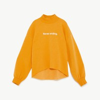 SWEATSHIRT WITH TEXT DETAILS