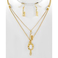 Vanity Fair Necklace Set