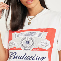 Urban Renewal Vintage Surplus Budweiser King of Beers T-Shirt | Urban Outfitters