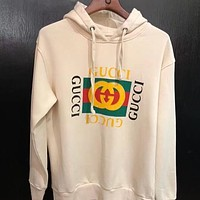 GUCCI Hooded Fashion Long Sleeve Top Sweater