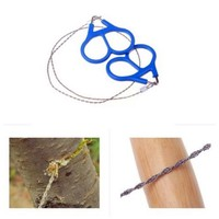 CAMTOA Saber Cut Wire Saw Outdoor Scroll Emergency Travel Camping Hiking Survival Tool Steel Wire Saw
