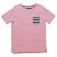 Altru Apparel Red Stripes W/Pocket T-shirt  (Limited Sizes Available)