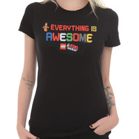 The LEGO Movie Everything Is Awesome! Girls T-Shirt
