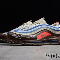HCXX 19July 1004 Shady x Nike Air Max 97 ND 884421-905 Flyknit Breathable Running Shoes
