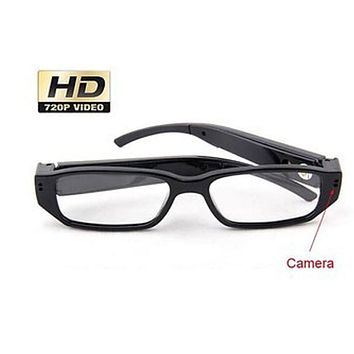 Side Camera Hidden Clear Lens Ultra Light Reading Eyeglasses Spy Camera DVR