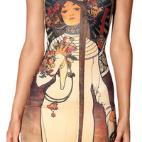 Geisha Bodycon Mini Dress