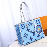 Kuyou Lv Louis Vuitton Fashion Women Men Gb29611 M44571 Monogram Handbags & Totes Onthego 41*34* 19 Cm