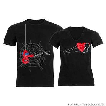 You've Captured My Heart™ Matching Couples Shirts Black,His and Hers Shirts,Spiderman Shirt,Valentines Day Gift for Him,Boyfriend Gift,Husband Gift,Couples Gift,Gifts for Husband and Wife,Gifts for Boyfriend and Girlfriend