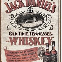 "Jack Daniels - Sippin Whiskey Tin Sign 16"" X 12.5"""