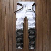 Casual Ripped Holes Pants [1922680127581]