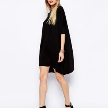 ASOS The T-Shirt Dress with Short Sleeve
