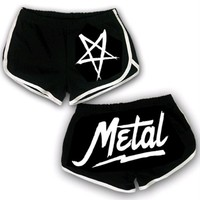 Pentagram Black/White : LOM0 : Ladies of Metal
