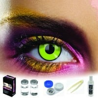 EDIT Green Eye Coloured Contacts (Kit)