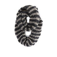 AEO Cozy Stripe Loop Scarf | American Eagle Outfitters