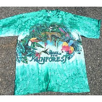 Wake Up The Rain Forest Vintage Tee