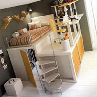 Lofted Space-Saving Furniture for Bedroom Interiors | Designs & Ideas on Dornob