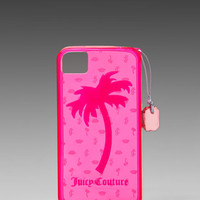 Juicy Couture Gelli iPhone 4/4S Case in Passion Pink from REVOLVEclothing.com